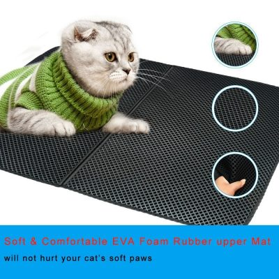 Litter Catching Mat for Cats and Kittens 4