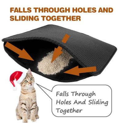 Litter Catching Mat for Cats and Kittens 2