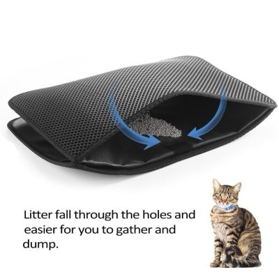 Litter Catching Mat for Cats and Kittens 5