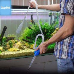 Semi-automatic Aquarium Clean Vacuum Water Change Changer Gravel Aquarium Simple Fish Tank Vacuum Siphon Pump Cleaner 1
